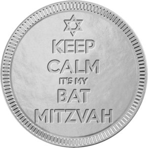Keep Calm Bat Mitzvah